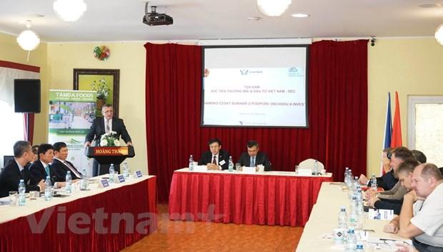 Thúc đẩy hợp tác kinh tế Việt Nam - Cộng hòa Séc