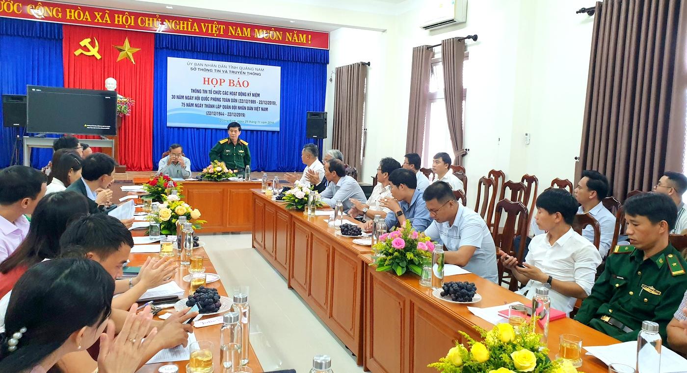Quảng Nam Nhiều hoạt động kỷ niệm ngày truyền thống của Quân đội