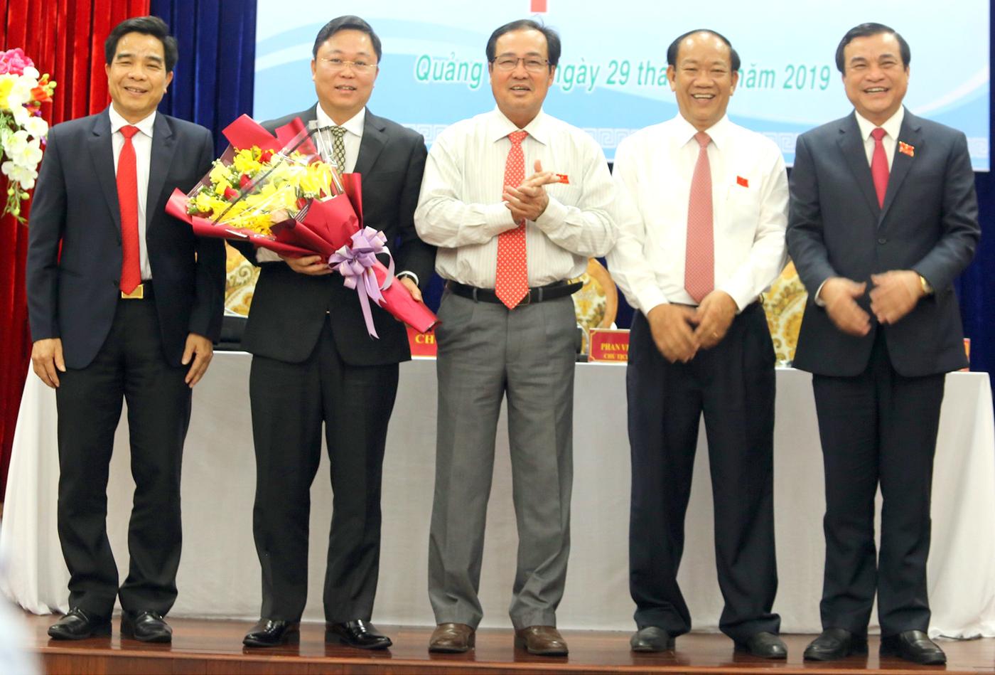 Đồng chí Lê Trí Thanh được bầu giữ chức Chủ tịch UBND tỉnh Quảng Nam