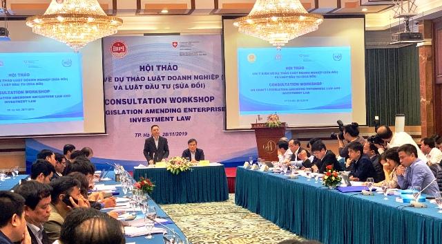 Sửa đổi Luật Doanh nghiệp và Đầu tư phù hợp với bối cảnh kinh tế mới