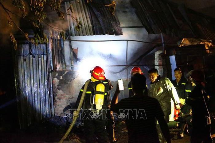 Cháy nhà tại quận Hoàng Mai Hà Nội khiến 3 người tử vong