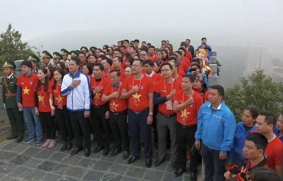 200 đoàn viên tiêu biểu tham gia Hành trình Tôi yêu Tổ quốc tôi