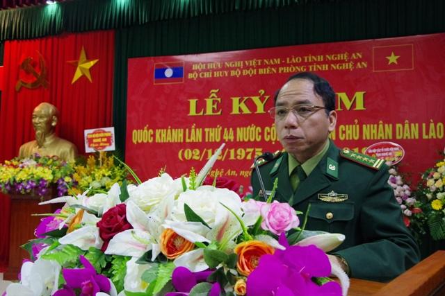 Nghệ An Kỷ niệm lần thứ 44 Quốc khánh nước Cộng hòa Dân chủ Nhân dân Lào