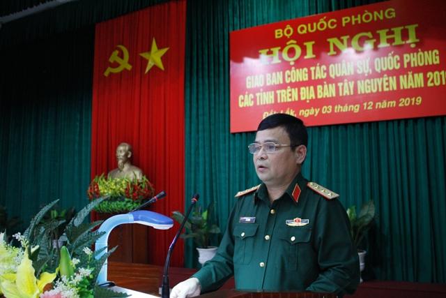 Giao ban công tác quân sự, quốc phòng các tỉnh trên địa bàn Tây Nguyên