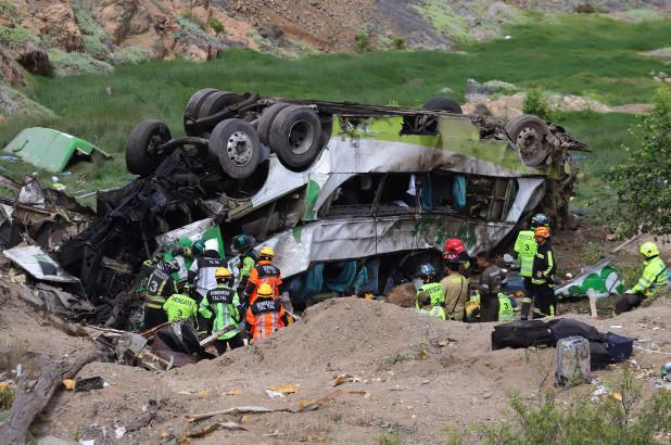Tai nạn xe buýt tại Chile khiến hơn 40 người thương vong