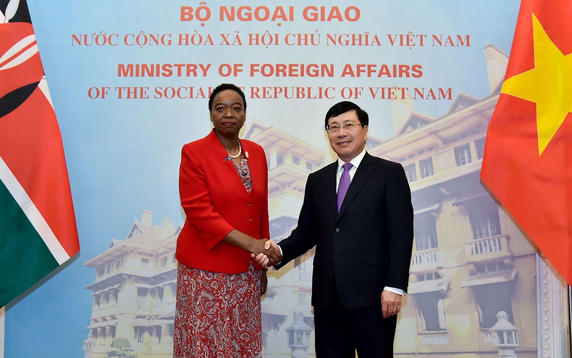 Hợp tác Việt Nam - Kê-ni-a bước vào giai đoạn phát triển mới