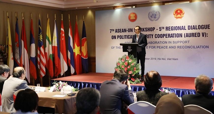 Đối thoại khu vực lần thứ 5 về hợp tác chính trị-an ninh