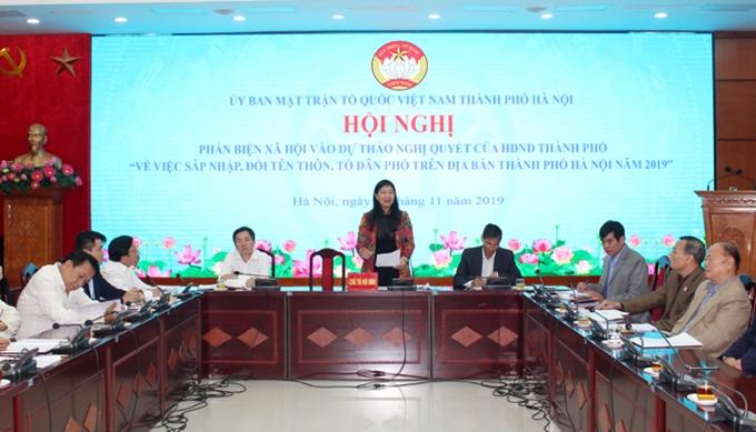 Hà Nội sẽ giảm hơn 2 800 thôn, tổ dân phố do sáp nhập