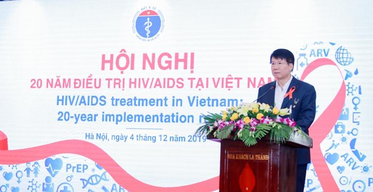 20 năm điều trị HIV AIDS tại Việt Nam Mỗi năm có hơn 10 000 người nhiễm HIV được điều trị ARV  