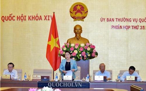 Các nội dung Chính phủ dự kiến trình Ủy ban Thường vụ Quốc hội