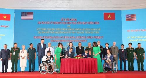 Khởi công dự án 390 triệu USD xử lý ô nhiễm dioxin tại sân bay Biên Hòa
