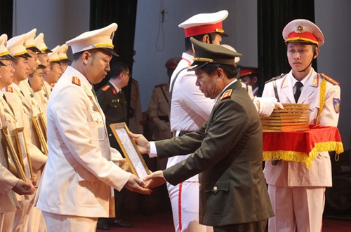 Hà Nội Triển khai hơn 800 công an chính quy về 122 xã