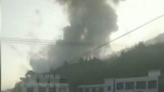 Nổ nhà máy pháo hoa ở Trung Quốc 20 người thương vong