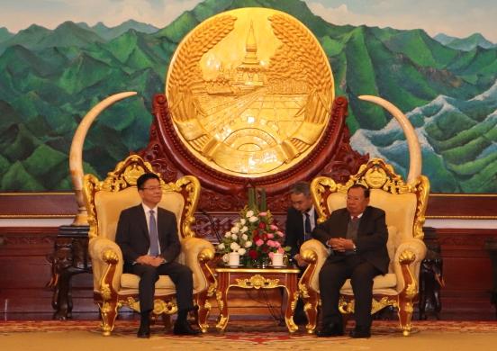 Tăng cường hợp tác giữa hai Bộ Tư pháp Việt Nam - Lào