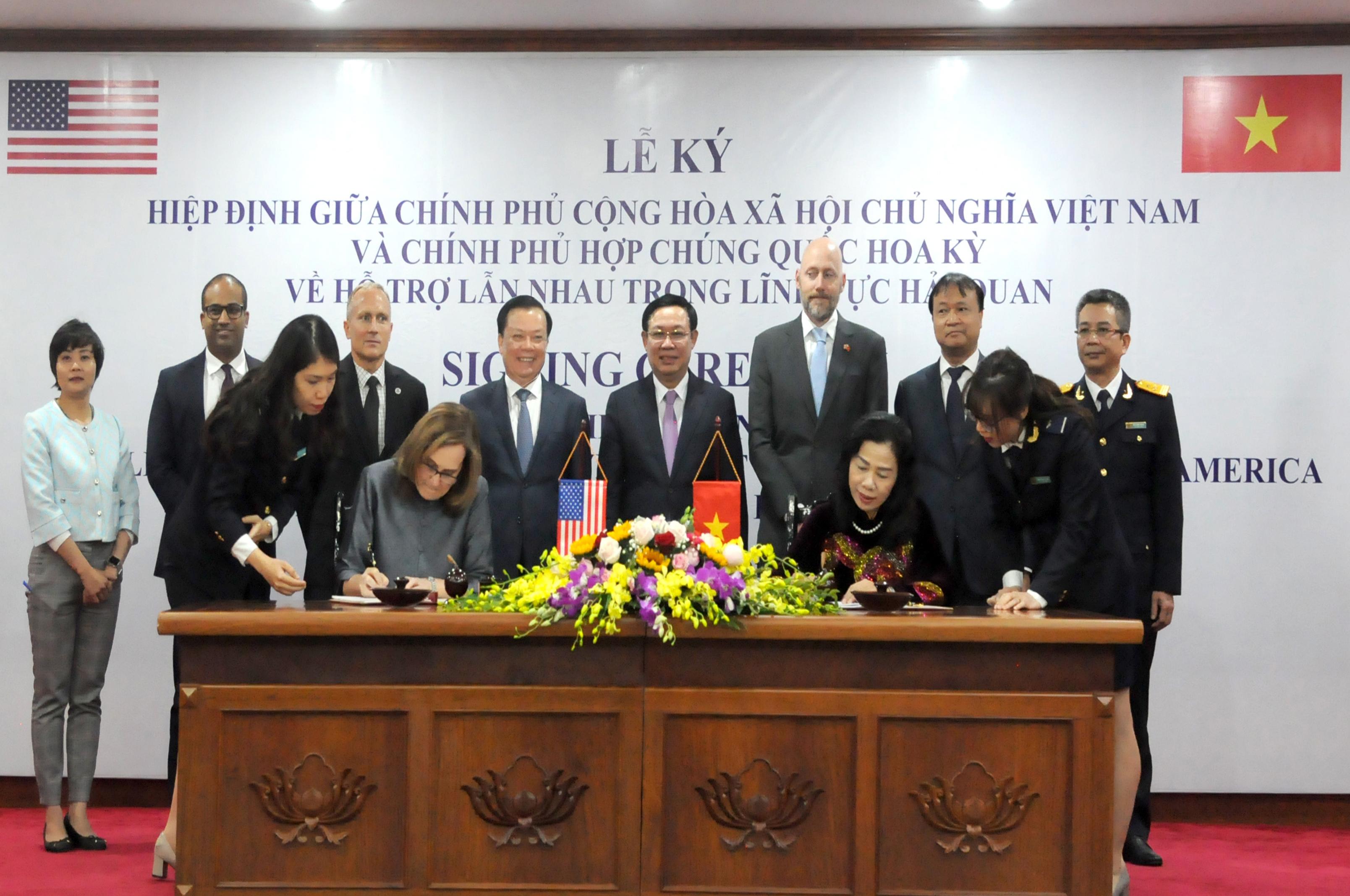 Tăng cường hợp tác lĩnh vực hải quan Việt Nam - Hoa Kỳ