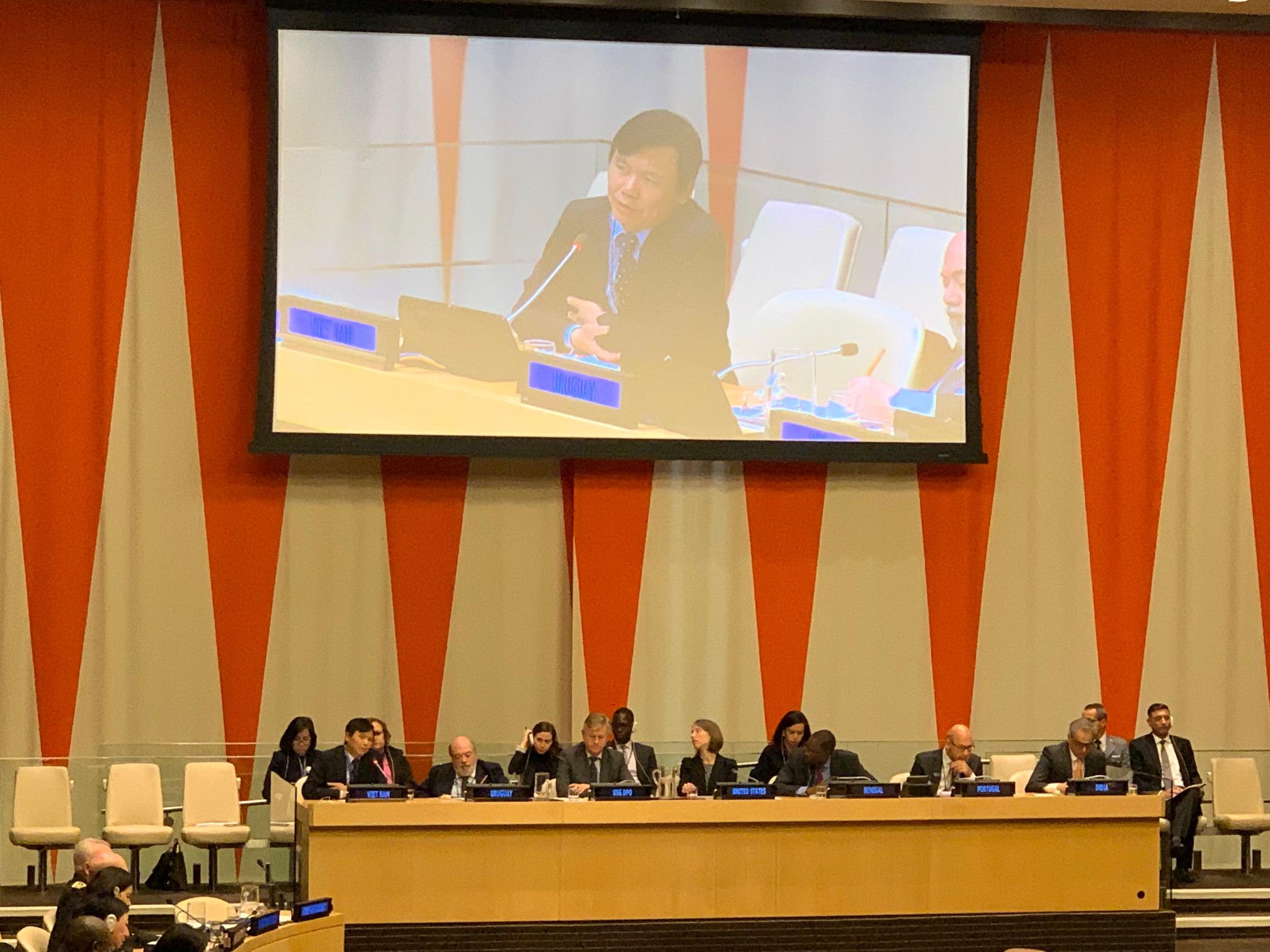 Tăng cường hiệu quả hoạt động gìn giữ hoà bình của Liên hợp quốc
