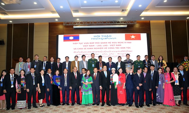 Tiếp tục vun đắp truyền thống quan hệ hữu nghị vĩ đại Việt Nam - Lào