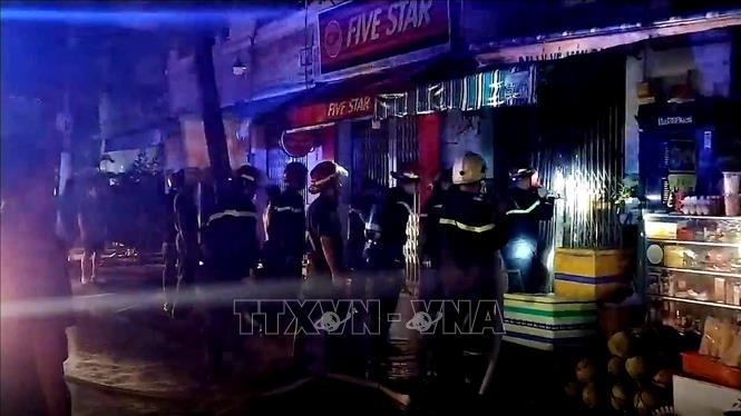 TP Hồ Chí Minh Cháy nhà trong đêm làm 3 người thiệt mạng