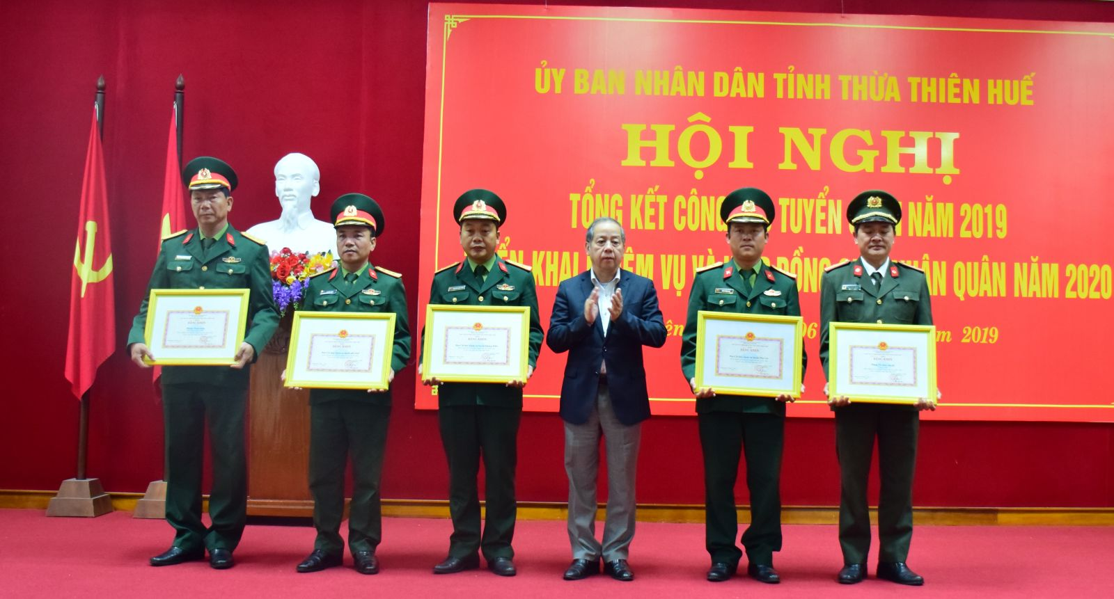 Năm 2020 Thừa Thiên - Huế được giao chỉ tiêu 1 351 thanh niên nhập ngũ