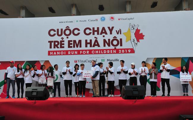 Chạy vì trẻ em Hà Nội – lan tỏa tình yêu thương
