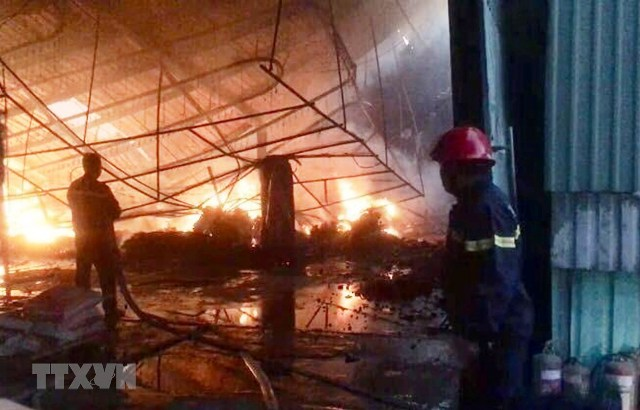 Xử lý và khắc phục cháy ở Hà Nội, TP Hồ Chí Minh và Bình Dương