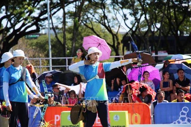 SEA Games 30 Bắn cung Việt Nam giành HCV đầu tiên