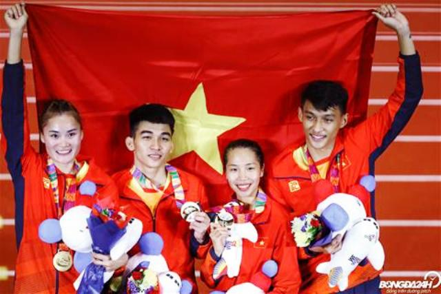 SEA Games 30 Liên tiếp những HCV cho thể thao Việt Nam