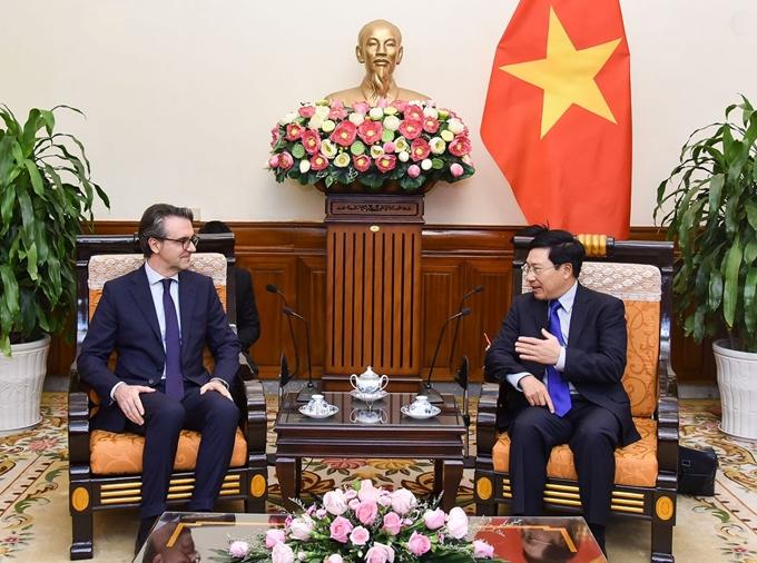 Quan hệ Việt Nam - EU đang ở giai đoạn tốt đẹp và toàn diện