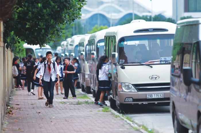 Hà Nội xử lý 39 trường hợp vi phạm trong vận chuyển đưa đón học sinh