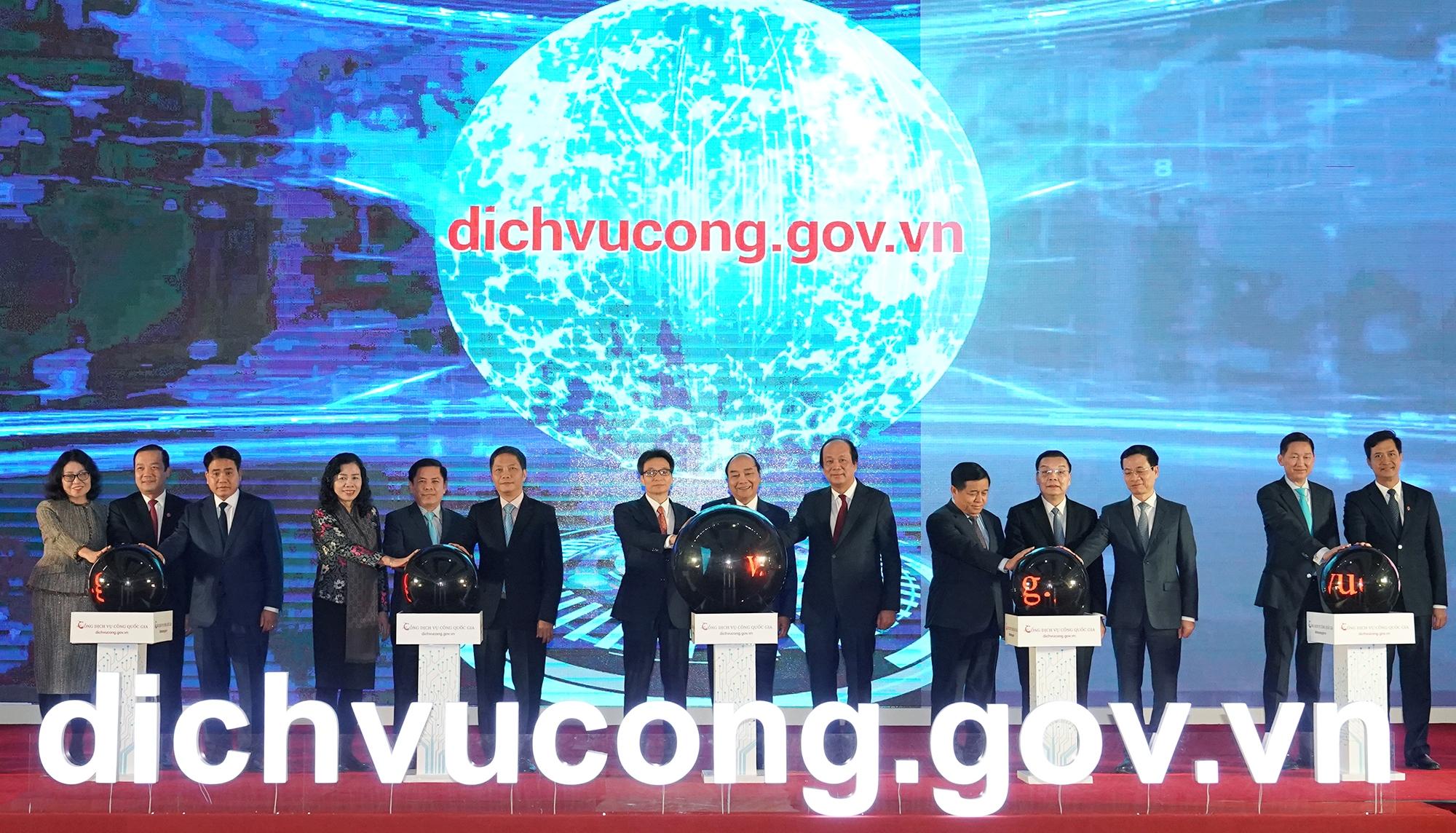 Khai trương đưa Cổng Dịch vụ công Quốc gia vào vận hành chính thức