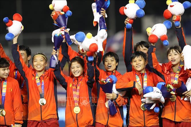 Đội tuyển nữ Việt Nam lần thứ 6 giành Cúp Vàng tại SEA Games