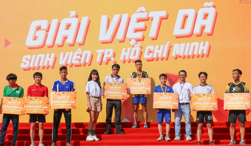 Hơn 10 000 sinh viên tham gia giải Việt dã Sinh viên TP Hồ Chí Minh 2019