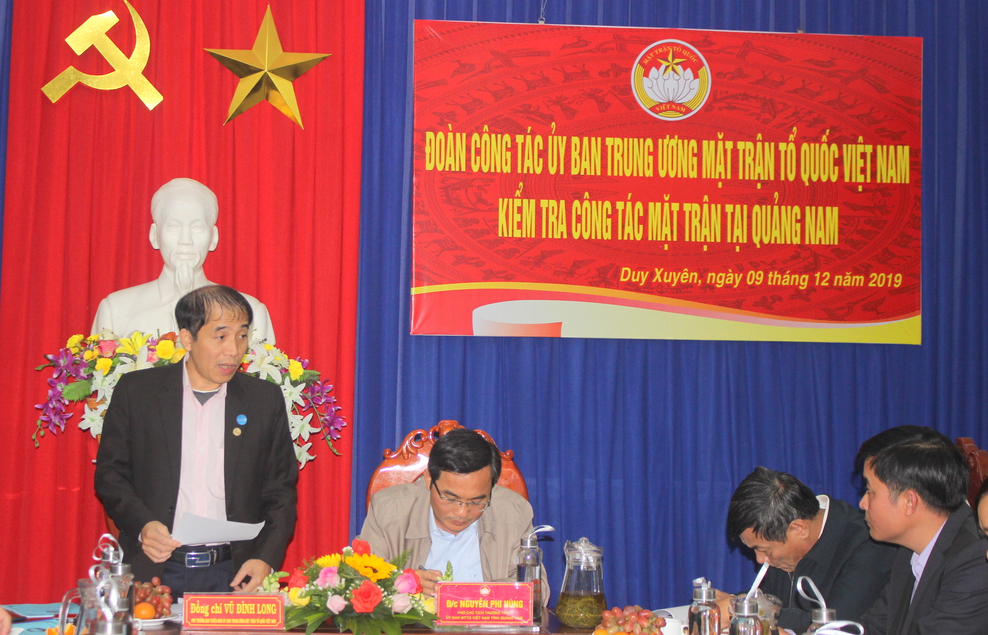 Tham mưu giúp cấp ủy tổ chức thành công Đại hội Đảng các cấp