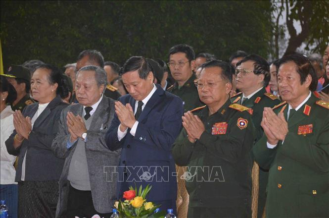 Đại lễ cầu siêu tưởng niệm tri ân anh hùng liệt sĩ Lào - Việt Nam
