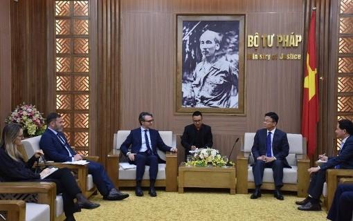 Tăng cường hợp tác trong lĩnh vực pháp luật và tư pháp giữa Việt Nam - EU
