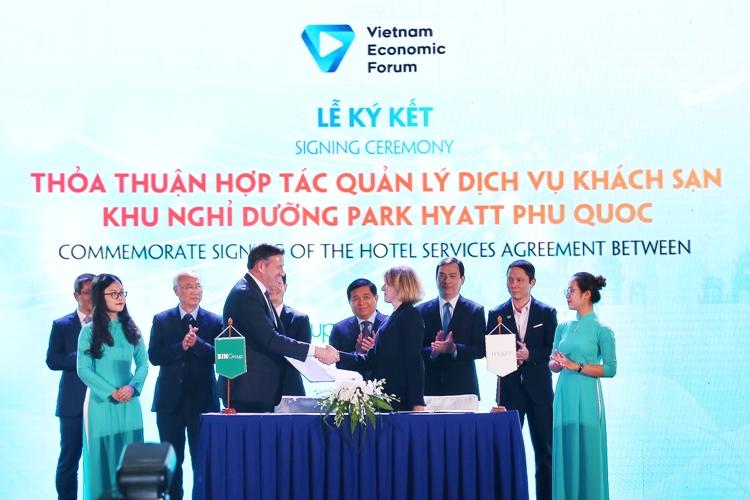 BIM Land và Tập đoàn Hyatt ký kết thỏa thuận hợp tác tại triển khai dự án Park Hyatt Phú Quốc