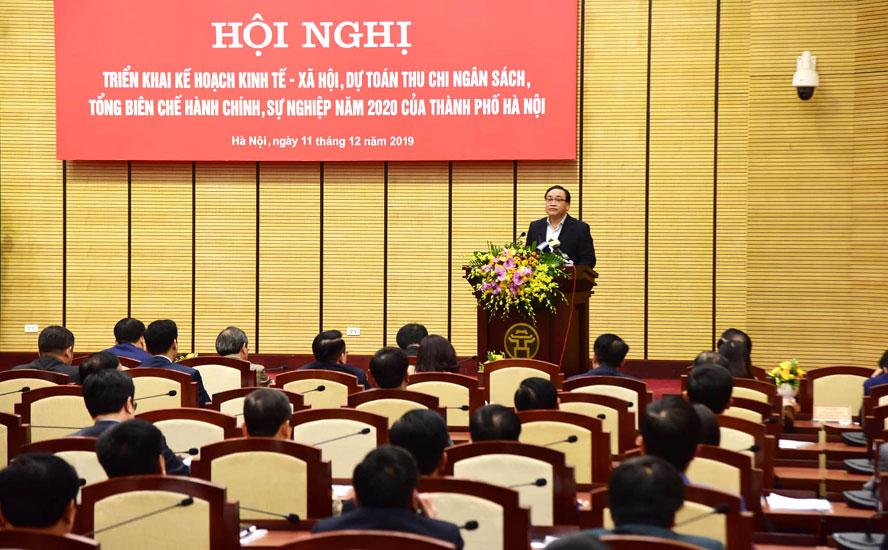 Hà Nội quyết tâm hoàn thành nhiệm vụ kinh tế - xã hội năm 2020