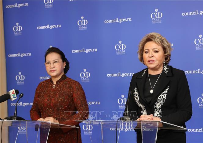 Thúc đẩy hợp tác Quốc hội hai nước Việt Nam - Liên bang Nga   