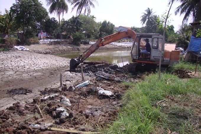 Tập trung phòng chống xâm nhập mặn mùa khô 2019 - 2020