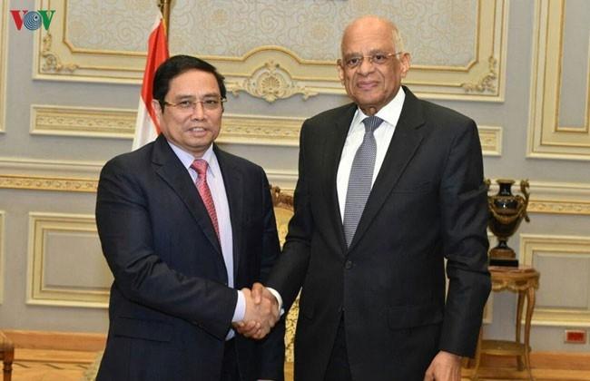 Đảng, Nhà nước và nhân dân Việt Nam luôn coi trọng và thúc đẩy quan hệ hữu nghị, hợp tác tốt đẹp với Ai Cập