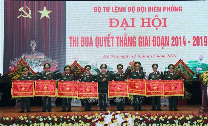 Bộ đội Biên phòng đẩy mạnh thi đua quyết thắng