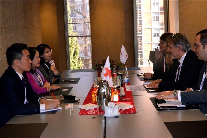 Việt Nam tích cực và chủ động tham gia Phong trào Chữ thập đỏ và Trăng lưỡi liềm đỏ quốc tế