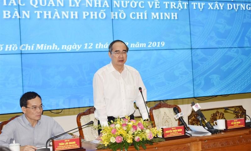 TP Hồ Chí Minh Năm 2020 không để gia tăng vi phạm trật tự xây dựng