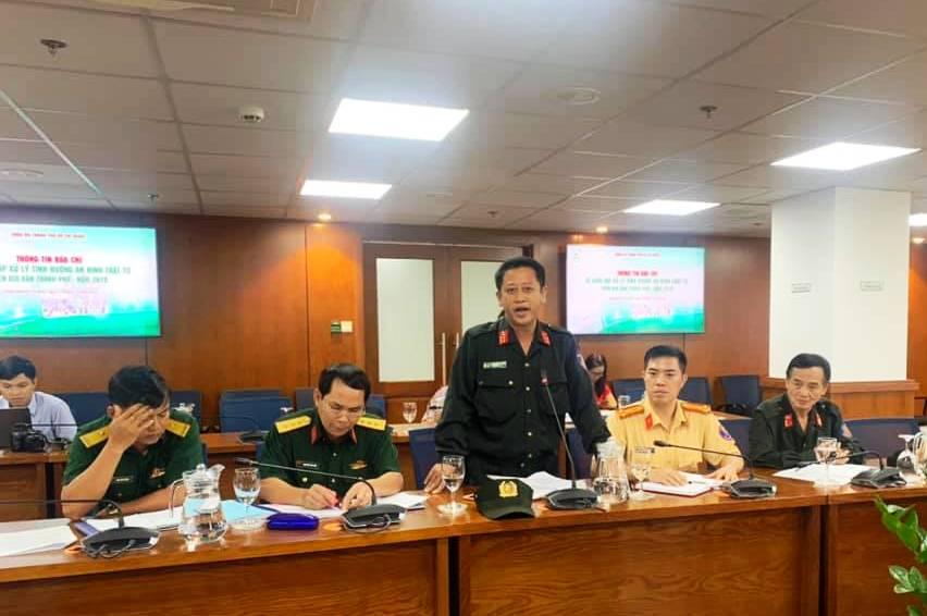 TP Hồ Chí Minh Tổ chức diễn tập đối phó các tình huống phức tạp về an ninh, trật tự