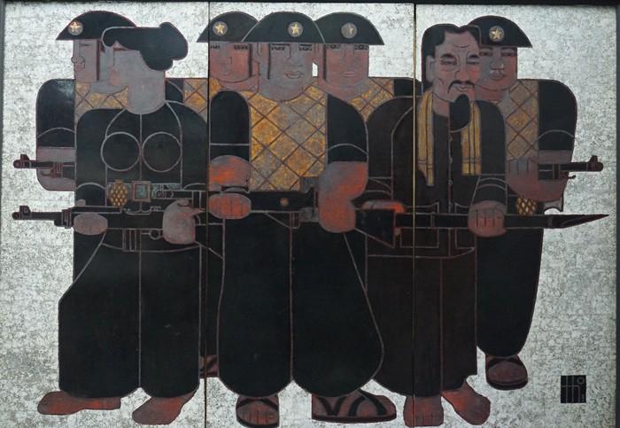 Trưng bày 60 tác phẩm mỹ thuật về Quân đội nhân dân Việt Nam