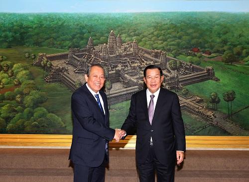 Thắt chặt hơn nữa quan hệ tốt đẹp Việt Nam - Campuchia