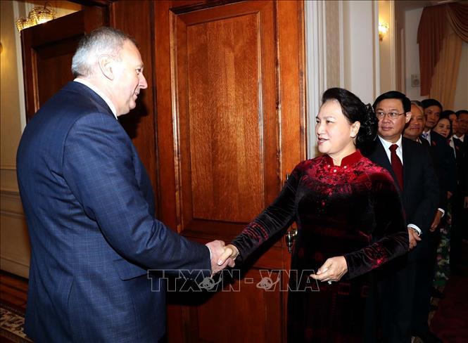 Coi trọng quan hệ hữu nghị truyền thống, hợp tác nhiều mặt với Belarus