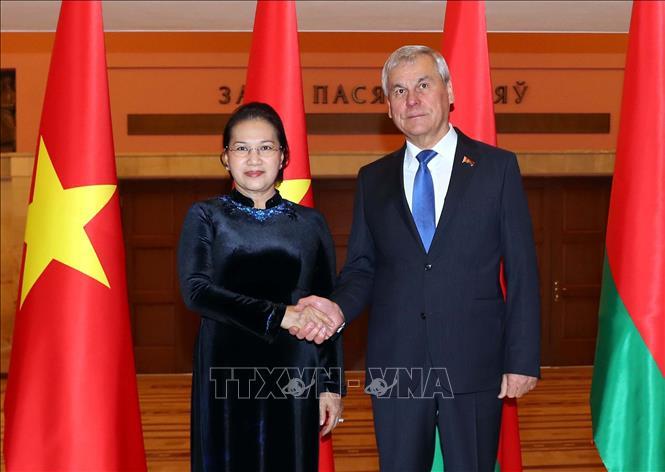 Tăng cường quan hệ hợp tác Quốc hội Việt Nam - Nghị viện Belarus