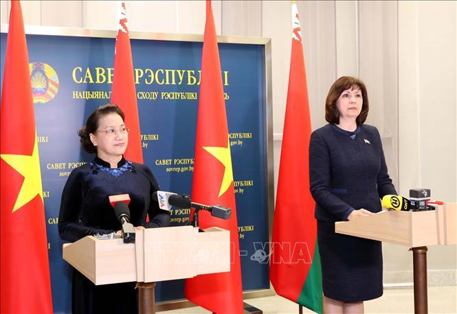 Đưa quan hệ hai nước Việt Nam - Belarus lên tầm cao mới