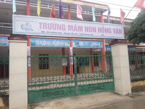 Ân Thi Hưng Yên  Chuyển biến tích cực trong hoạt động tại Trường Mầm non xã Hồng Vân